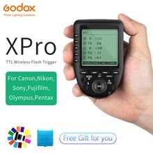 цена Godox Xpro-C Xpro-N Xpro-S Xpro-F Xpro-O Xpro-P 2.4G TTL Wireless Trigger Transmitter for Canon Nikon Sony Fuji Olympus Pentax онлайн в 2017 году