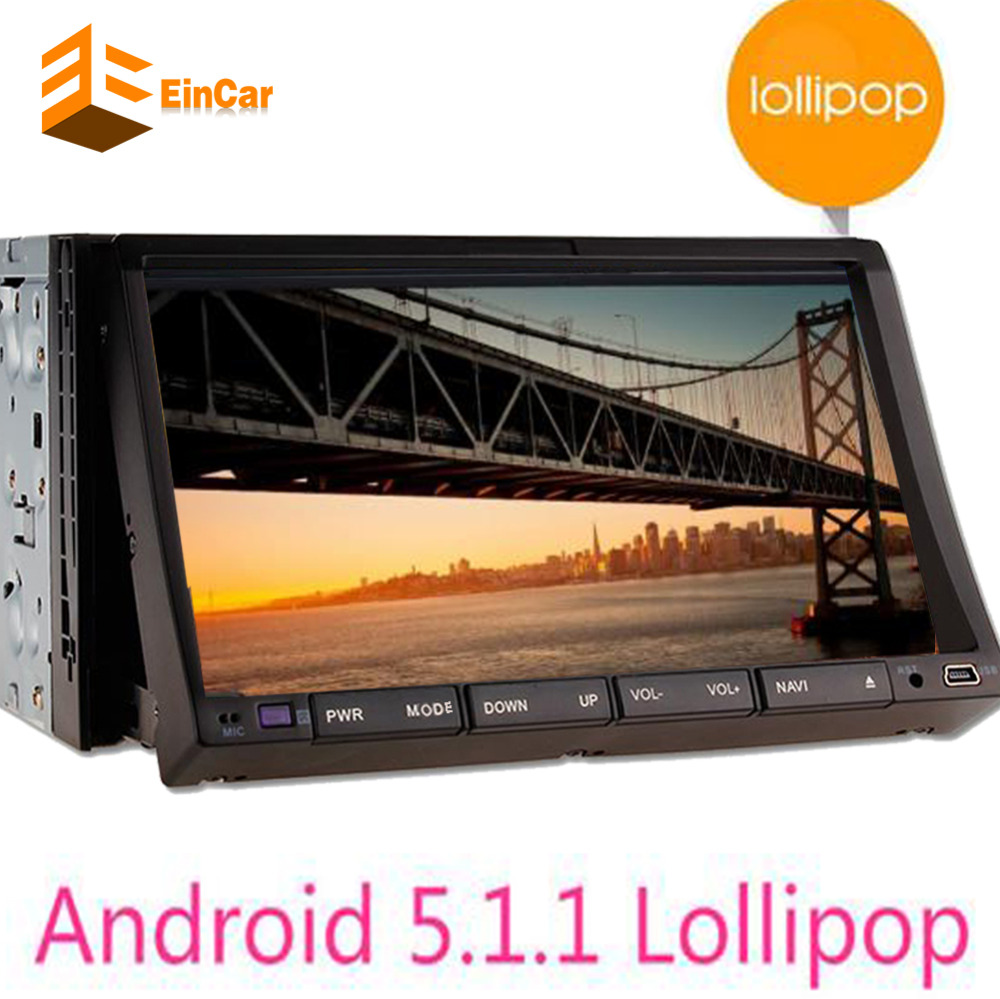 Double 2 Din android 5.1 Car Audio DVD Player GPS Navigator Stereo Car autoradio 2 din GPS Navigation Multimedia Radio Bluetooth