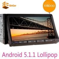 Double 2 Din Android 5 1 Car Audio DVD Player GPS Navigator Stereo Car Autoradio 2