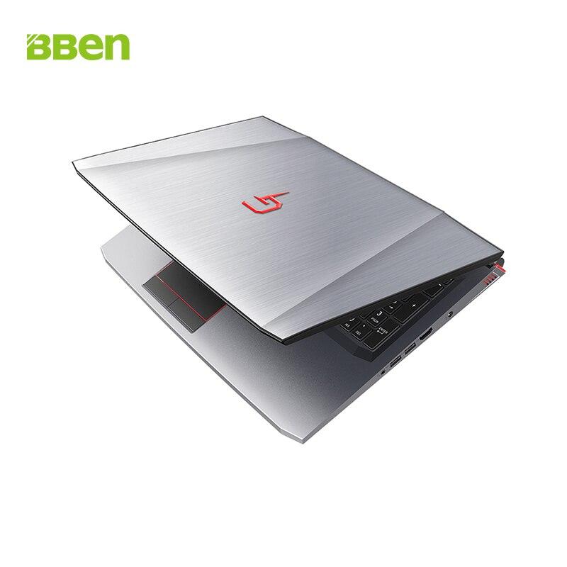 BBen G16 Ordinateur Portable Intel i7 7700HQ NVIDIA GTX1060 Windows 10 8 gb RAM 128 gb SSD PCI-E 1 t HDD 15.6 pouce IPS Écran Rétro-Éclairé Clavier