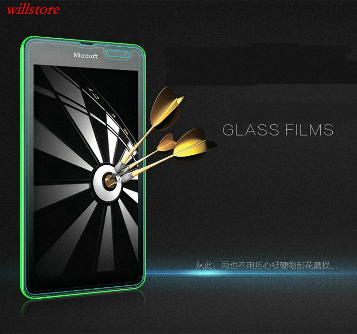 Härdat glasskärmskydd BAG för Nokia Lumia 435 520 530 532 535 540 - Reservdelar och tillbehör för mobiltelefoner - Foto 2