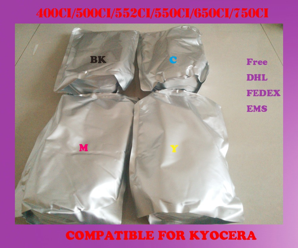 Free shipping refill color toner powder compatible for kyocera 400ci / 500ci / 552ci / 550ci / 650ci / 750ci high quality baldessarini туалетная вода ultimate