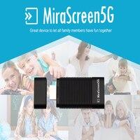 Mirascreen 5 г Беспроводной Дисплей ТВ ключ miracast airplay DLNA HDMI приемник Air зеркалирование высокое Скорость