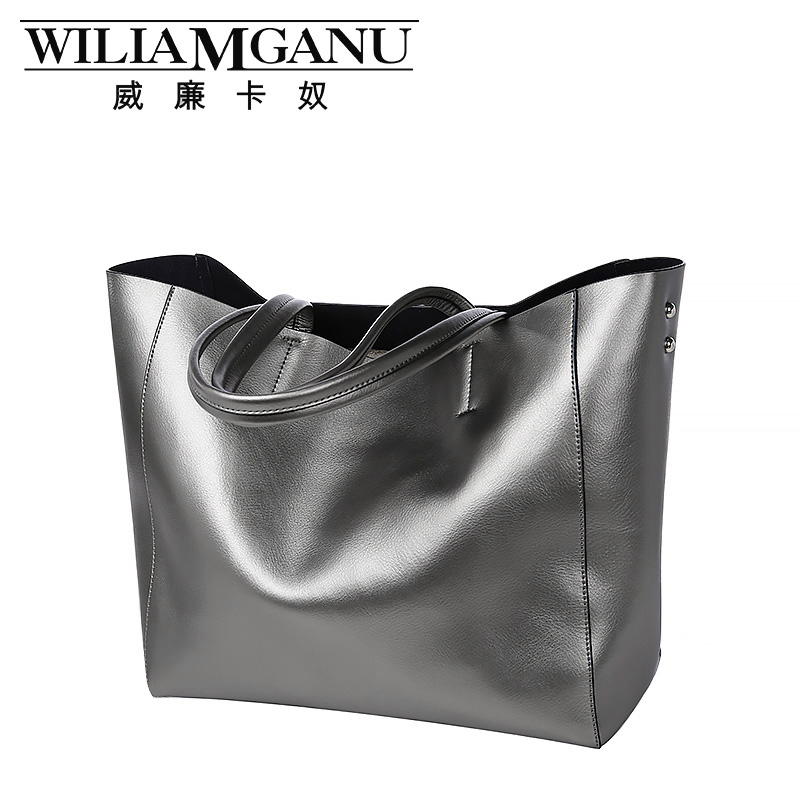 ФОТО WILIAMGANU brand handbags bags 2017 summer new style fashion genuine leather handbag Crossbody handbag ladies leisure bag