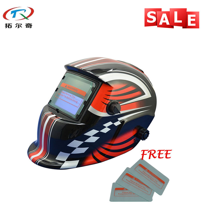 Free 3pcs protective sheet best solding welding mask Auto darkening TIG fast delivery Welding Helmet TRQ HD02 2200de|best welding helmet|welding helmet|welding mask auto - title=
