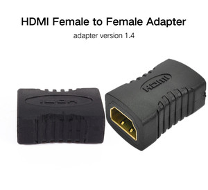 Image 2 - Ataliqi HDMI Female Extender Cable Adapter To HDMI Female Plug Hdmi Extension Cord Connector For 1080P HDTV Hdmi Adapter Cable