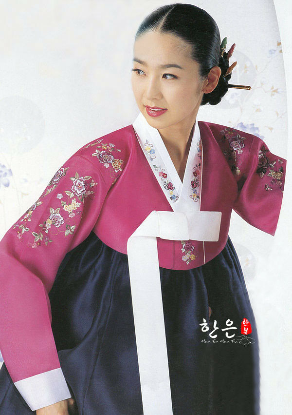 2019 New Fashion Hanbok Dress Custom Made Korean Traditional Woman Hanbok Korean National Costume Party Game Dress