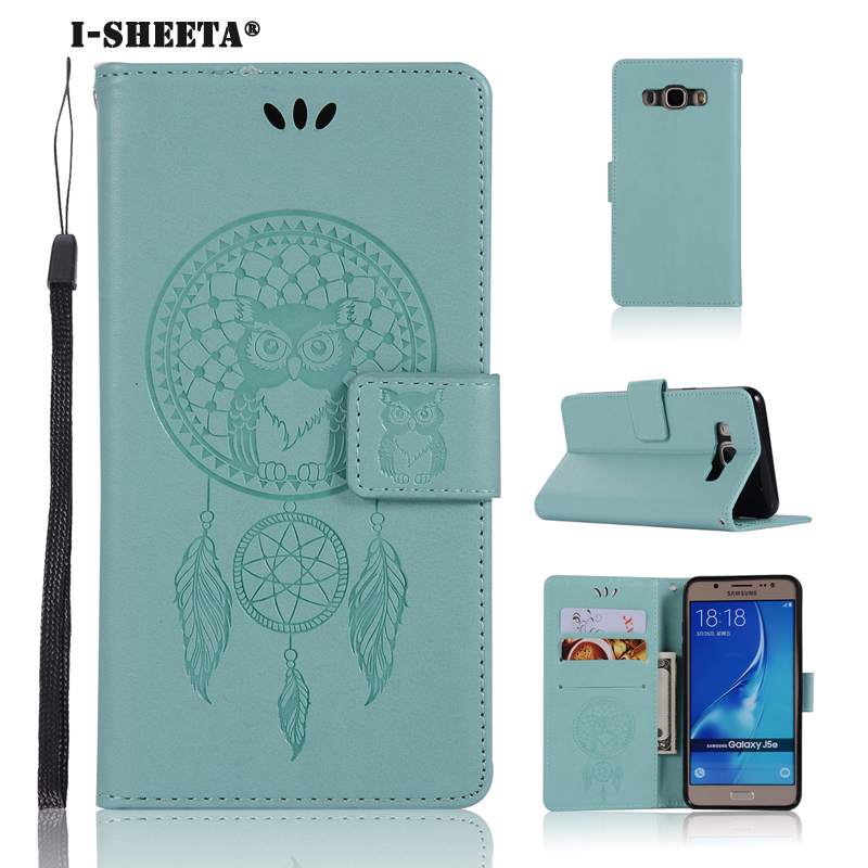 Lovely I-sheeta For Samsung J1 J3 J5 J7 2016 J120 J310 J510 J710 Case Flip Cover Wallet Stand Pattern Owl Wind Chimes Phone Shell Sales Of Quality Assurance Consumer Electronics
