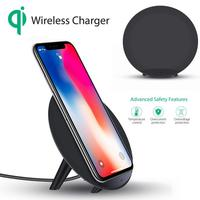 Carprie New Concision Portable Qi Safe Wireless Charger Fast Charging Stand For Iphone 8 8 Plus