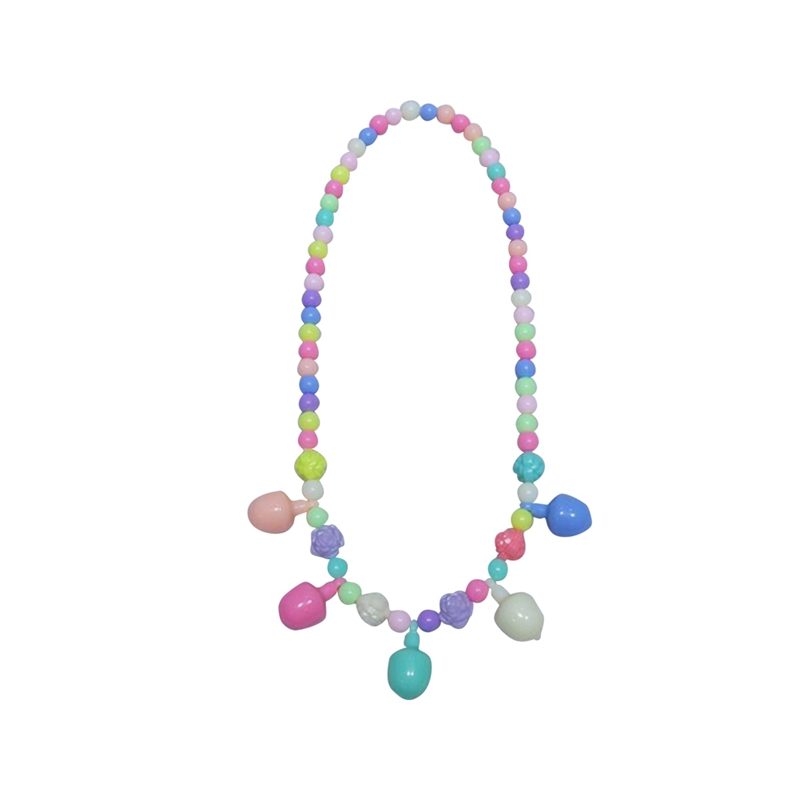 2018 New Fashion Style Necklace Set Kids Candy Colorful Acrylic Beads Necklace Bracelet Set For Cute Girl Baby Children Gifts