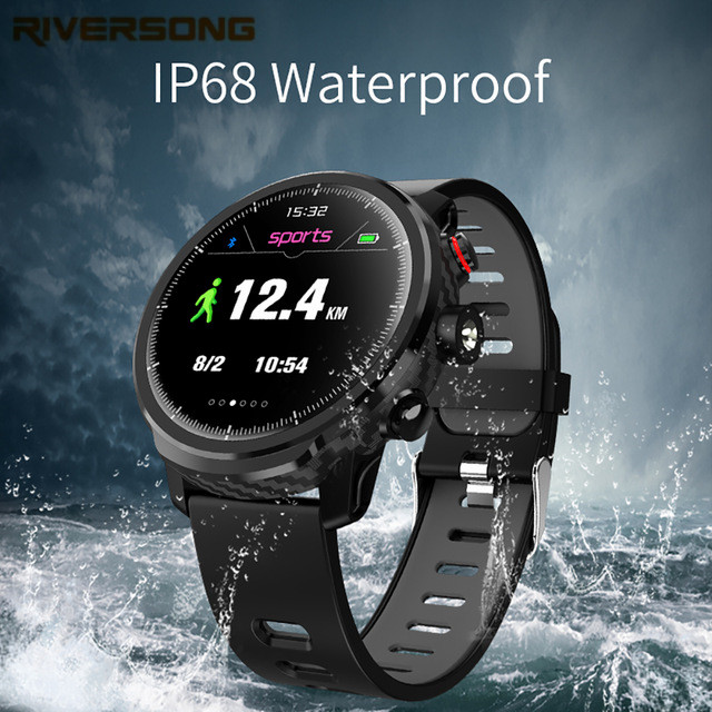 L5 Smart Watch Men IP68 Waterproof Multiple Sports Mode Heart Rate Monitoring Weather Forecast Smartwatch free shipping image