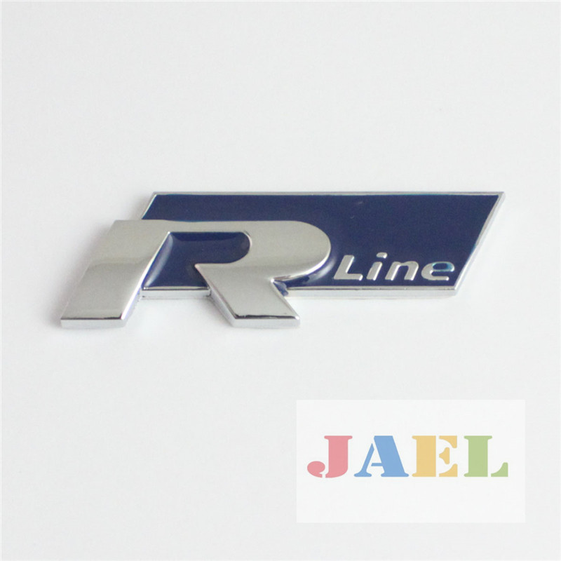 Auto 3d chrome alloy blue r line emblem decal badge sticker case for volkswagen on aliexpress com alibaba group