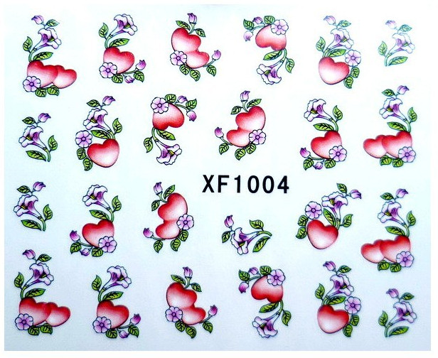 Image 5 - 60 Sheets Nail Art Flower Water Tranfer Sticker Nails Beauty Wraps Foil Polish Decals Temporary Tattoos Watermark-in Stickers & Decals from Beauty & Health