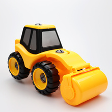1Pcs Youwant ABS Toy Car Construction Vehicle Roller Beach Truck For Kids