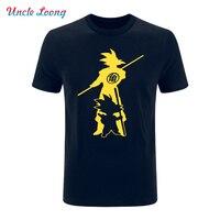 Japan Anime Dragon Ball Z Printing T Shirt Super Saiyan Funny Men Son Goku Tees Tops