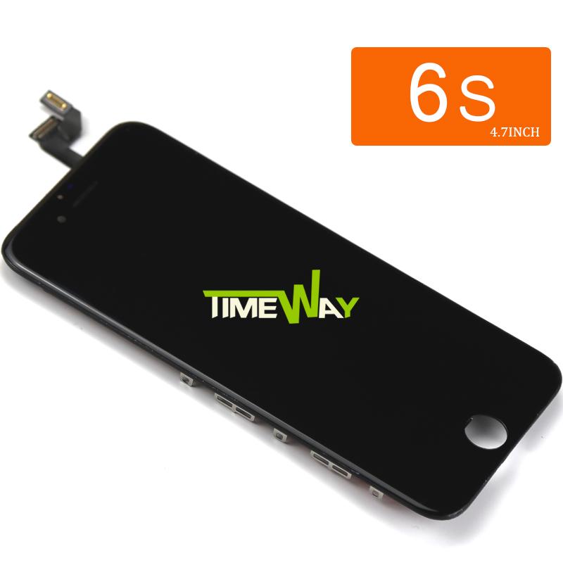 Prix pour Tianma 2 pcs 100% travail ok pour iphone 6s lcd assemblée avec 3d écran tactile d'affichage remplacement aucune dead pixel + caméra titulaire
