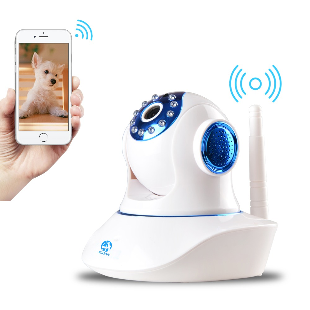 JOOAN 770MRB 720p Network Wireless Ip Camera Security Video Surveillance 1.0mp WIFI Baby Monitor Two way Audio Support TF Card(China (Mainland))