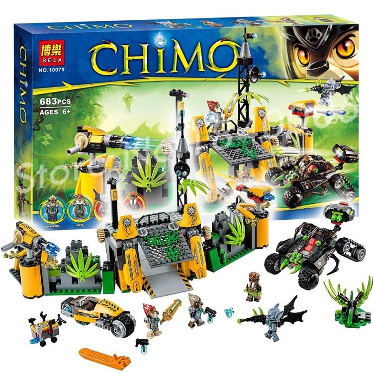 683 pièces usine de piège de véhicule araignée Lion Base Outland de lavertus 10079 aide étrangère incroyable blocs de construction jouets compatibles avec Lego