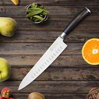 SUNNECKO Superio 8 5 Chef Knife German 1 4116 Steel Blade Kitchen Knives Color Wood Handle