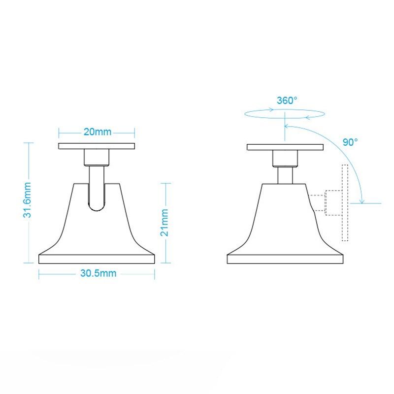 Image 4 - Original Xiaomi Aqara human body sensor Base ,work with mijia human body sensor motion sensor For xiaomi Mi home Smart home kit-in Smart Remote Control from Consumer Electronics