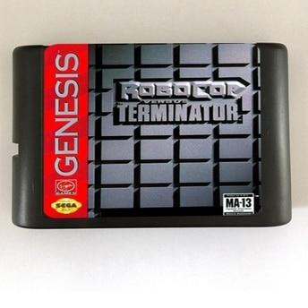 Robocop Versus Terminator - Sega Genesis