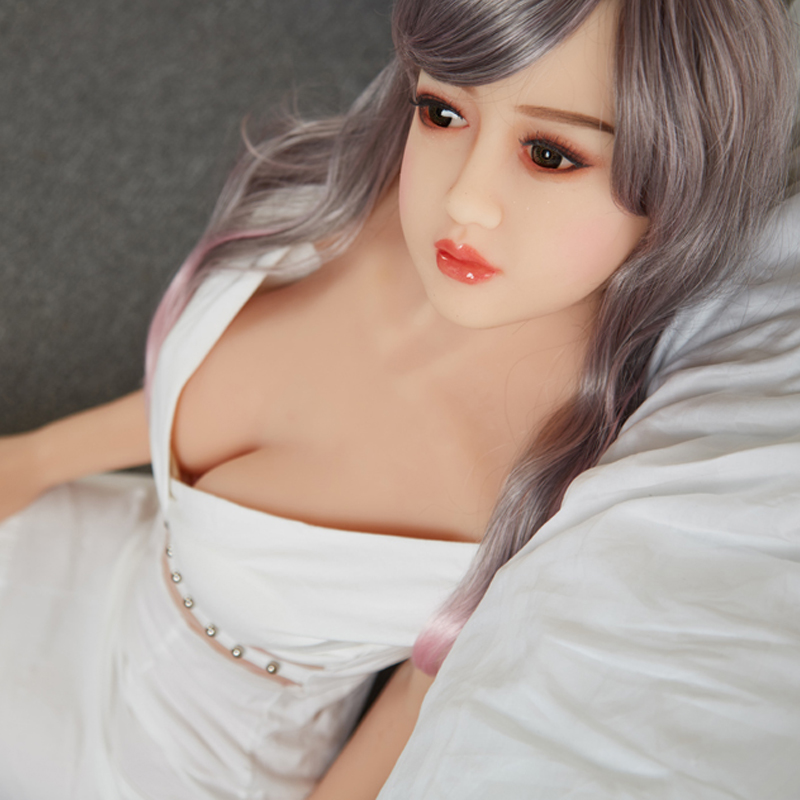 New TPE Rubber 158 CM Japanese Real Doll For Sale Skeleton Sex Doll,Big Breast oral/vagina Sexy Lifelike  Sex Doll For Women
