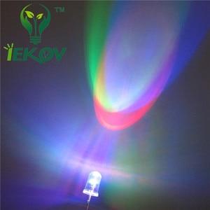 Image 5 - 50 cái LED 5 MÉT LED RGB LEDS Slow RGB Flash Red Green màu xanh Cầu Vồng Nhiều Màu Sắc Phát Ra Điốt Vòng Strobe Đèn Led Đèn ÁNH SÁNG DIY