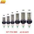 [MingBen] bombilla LED SMD 5736 E27 LED luz de la lámpara de 3 W 5 W 7 W 9 W 12 W 15 W LED LUZ DE MAÍZ AC85V-265V Lampada No parpadeo constante actual