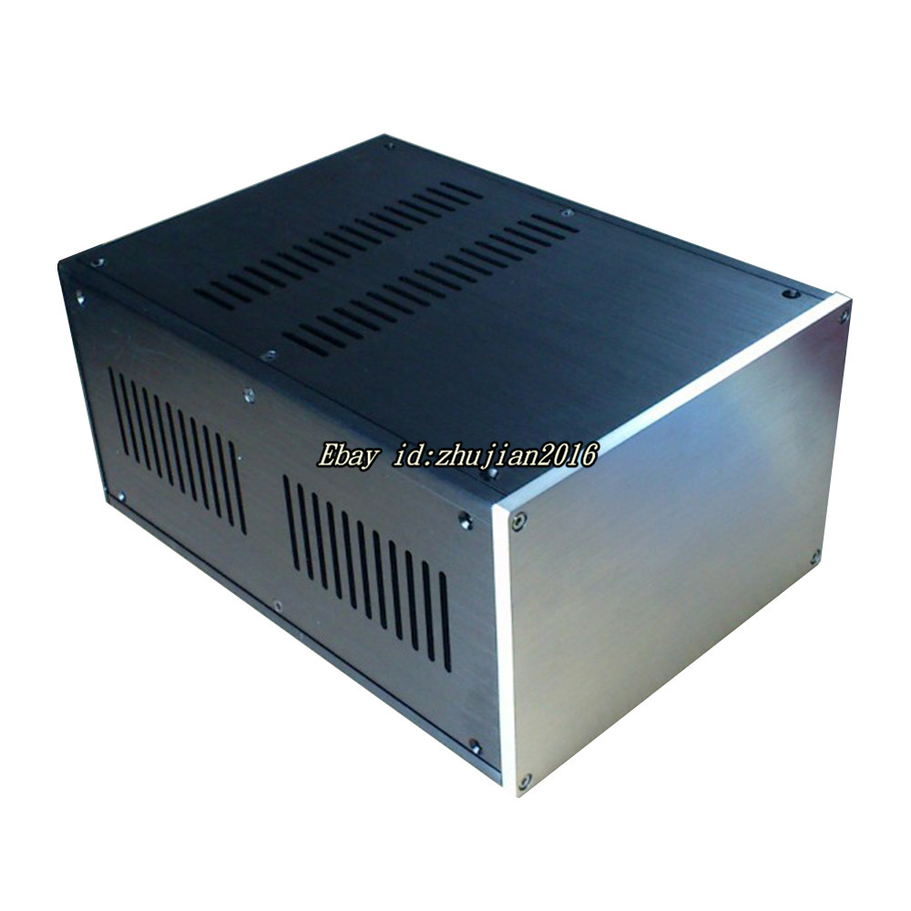 Number 1 Multi-purpose aluminum chassis Isolate the power box size 221.5*150*311mm