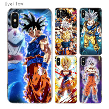 Uyellow Anime Dragon Ball Soft Cover For Iphone 5 6 6S 7 8 9 10 Plus Trend Silicone Phone Case Apple X XR XS MAX Coque