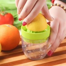 125ml Portable manual juicer / lemon juicer so manually squeezed orange juice, fruit salad Bowl basin Kitchen tools