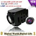 Rs232/rs485 960 P de alta velocidade da abóbada câmera ip Módulo ptz zoom Óptico de 18x Módulo uav cam Módulo compatível qualquer câmera onvif