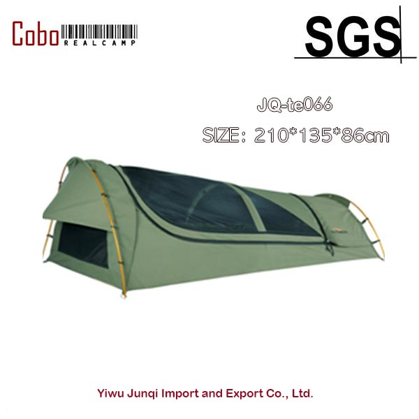 1-Person C&ing u0026 Hiking Outdoors Bedding Canvas Swag Tent Deluxe Aluminum Poles u0026 Bag  sc 1 st  AliExpress.com & 1 Person Camping u0026 Hiking Outdoors Bedding Canvas Swag Tent Deluxe ...