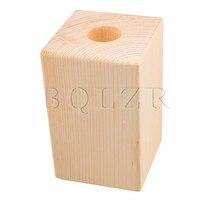 3cm Dia Round Hole Wood Furniture Lifter Bed Table Safa Riser Add 10cm BQLZR