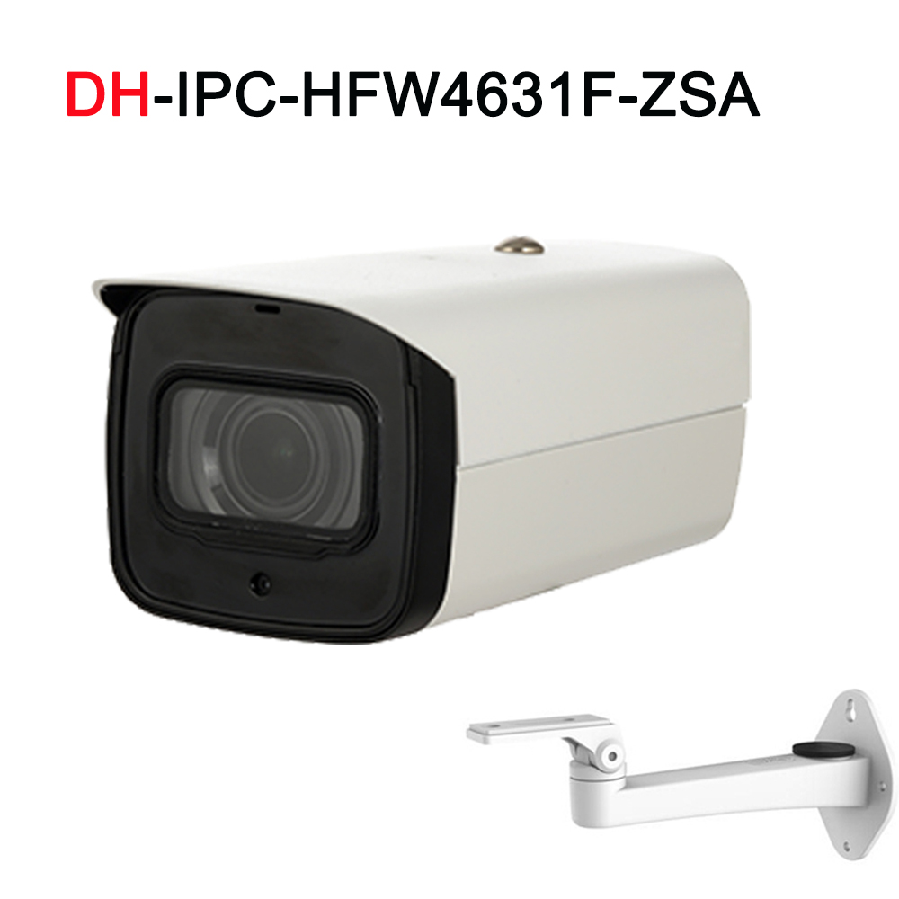 6MP Network Camera IPC-HFW4631F-ZSA&DS-1292ZJ 2.7-13.5mm VF lens Bullet Camera with Microphone SD Card Slot free shipping цена