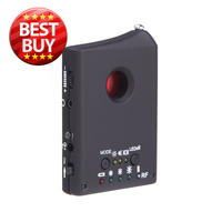 Multi function Detectable RF / LENS Detector Full Range Wireless Camera GPS Spy Bug RF Signal GSM Device Finder