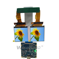 2.9 inch 2.89 inch 1440X1440 2K TFT LCD screen display for Dell Visor Windows Mixed Reality Headset Hololens AR VR MR