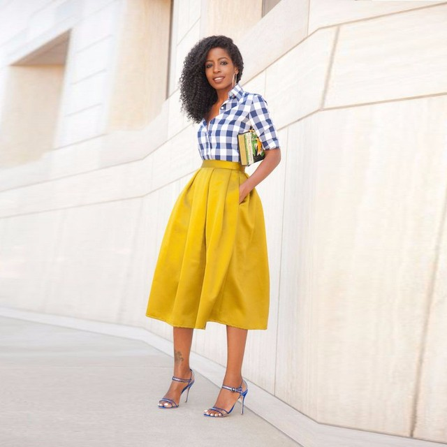Aliexpress.com : Buy 2017 New Style Pink Puffy Long Skirts Fashion ...