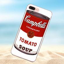 Qdowpz Campbells sopa de verduras para iPhone 4 4S 5 5C 5S SE 6 6 s e72b46401637