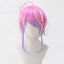 Дивизион рэп битва гипноз микрофон Amemura Ramuda короткий парик косплей костюм мужчины женщины термостойкие синтетические волосы парики+ парик колпачок