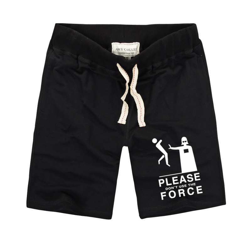 Yüksek Kaliteli Pamuk Şort Erkekler Slim Fit Şort 2019 Yaz - Erkek Giyim - Fotoğraf 2
