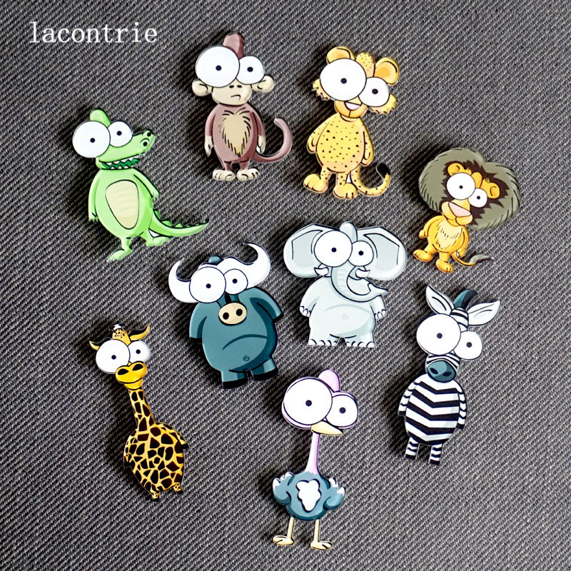 1 PCS Cartoon Cute Icon Badges for Clothing Free Shipping Icons on The Backpack Decoration Pin Badge Acrylic Badges