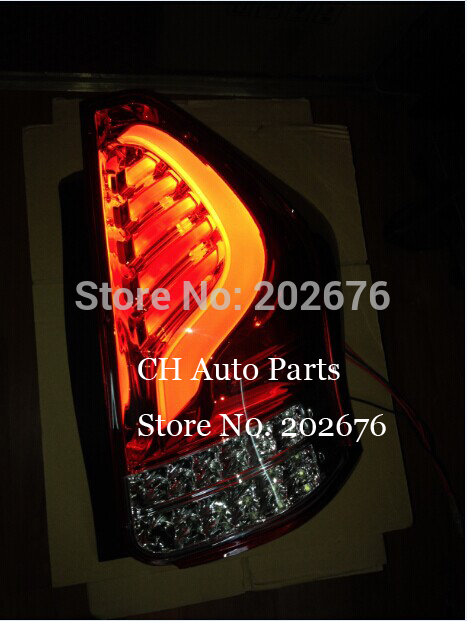 , CHA LED AUTO <font><b>TAIL</b></font> LAMP REAR LIGHT ASSEMBLY FOR TOYOTA PRIUS ZVW40 / PRIUS + / PRIUS V (2012-UP)