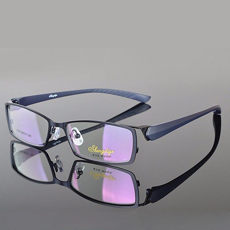 c822e5f21aa0f6 Monture de lunettes Lunettes Hommes Ordinateur Myopie Optique Cadre de  Lunettes Pour Homme Transparent Lentille Claire armação de RS026 dans Lunettes  Cadres ...