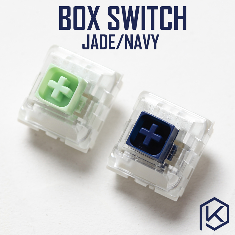 Novelkey Kailh Speed Box Switch Navy Jade Blue Green RGB SMD Switches Dustproof ForMechanical Gaming Keyboard IP56 Waterproof Mx