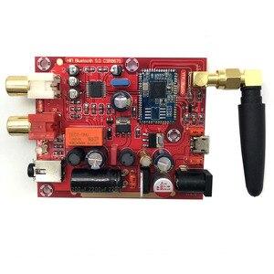 Image 2 - Wejście Lusya AUX Csr 8675 bezprzewodowa tablica odbiorcza Bluetooth 5.0 PCM5102A APTX HD I2S dekoder DAC 24bit z anteną