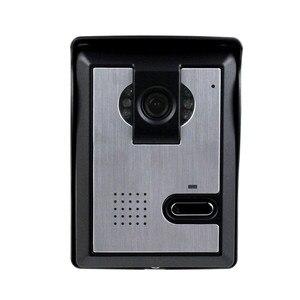 Image 2 - 무료 배송 비디오 도어 인터콤 시스템 비디오 도어 벨 야외 카메라 cmos ir 야간 투시경 홈/아파트