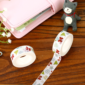 Winter Episode Washi Tape Adhesive Paper Tape Stickers Scrapbooking Masking Tape DIY image