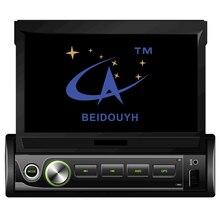 "BEIDOUYH 7"" Android Universal telescopic Car GPS Navigation auto radio DVR wifi bluetooth car navigator multimedia car radio"