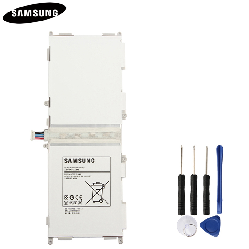 100% Original Tablet Battery EB-BT530FBC EB-BT530FBE For Samsung GALAXY Tab 4 T530 SM-T531 SM-T533 SM-T535 T535 SM-T537 6800mAh100% Original Tablet Battery EB-BT530FBC EB-BT530FBE For Samsung GALAXY Tab 4 T530 SM-T531 SM-T533 SM-T535 T535 SM-T537 6800mAh